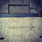 Communications goes undergrount