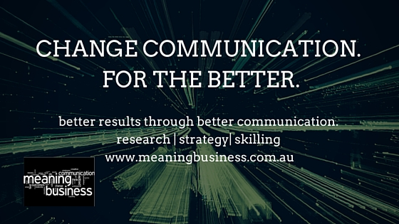 Change communication. For the better.