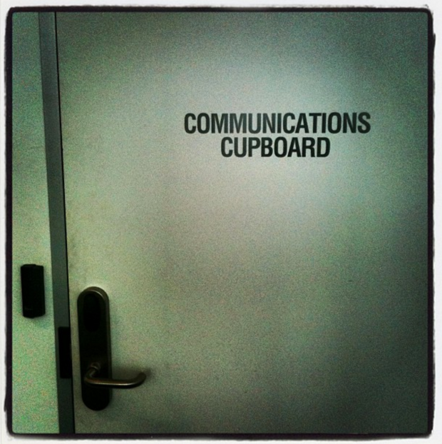 Communications Cupboard