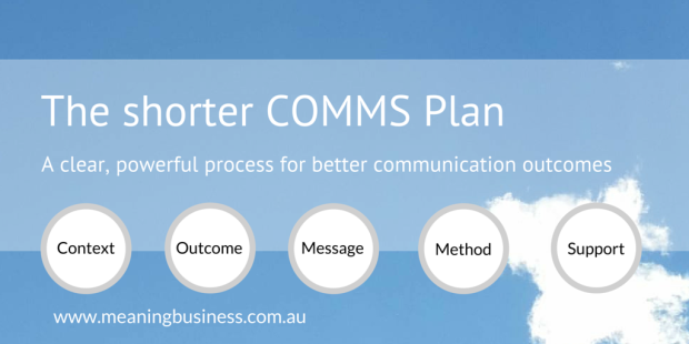 Shorter COMMS Plan